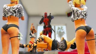 DEADPOOL PROSTITUTION MOD [GONE WRONG] (GTA 5 Funny Moments)