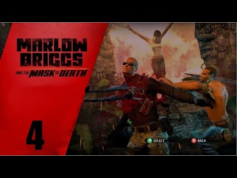 Давайте играть в Marlow Briggs and the Mask of Death часть 4