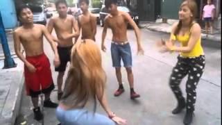 getlinkyoutube.com-Mocha Boys vs. Mocha Girls Showdown via KMJS