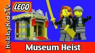 getlinkyoutube.com-Trixie Shows - LEGO City Museum Heist Cops and Robbers twitter Instagram Facebook HobbyKidsTV