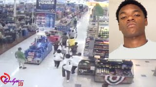 getlinkyoutube.com-Ghetto GA~Children of the cornbread go on a rampage at a Macon Walmart