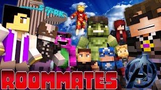 "Minecraft ROOMMATES! - ""AVENGERS CIVIL WAR SHOWDOWN!"" #8 (Minecraft Roleplay)"