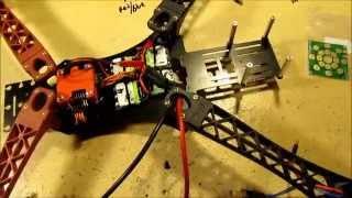 getlinkyoutube.com-HJ Alien X-500 Quadcopter Build, Part 1