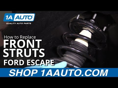 How to Replace Front Struts 01-12 Ford Escape