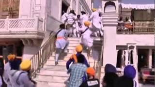 getlinkyoutube.com-Operation Blue Star Anniversary - Fight Inside Golden Temple - Shocking Footage