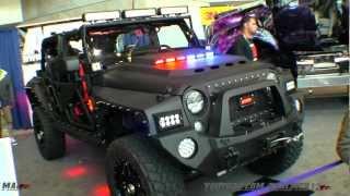 getlinkyoutube.com-2011 Jeep Wrangler Black Hawk (Heavily Modified) - Call of Duty Edition