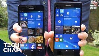 getlinkyoutube.com-Lumia 950 vs 950 XL Speed Test | Snapdragon 808 vs 810