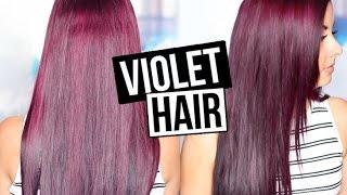 getlinkyoutube.com-HOW TO GET VIOLET HAIR!