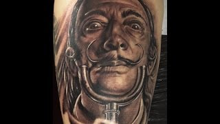 getlinkyoutube.com-Tatuaje Realismo Sombra