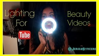 getlinkyoutube.com-Best Inexpensive Lighting For YouTube Beauty Videos ♥