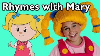 getlinkyoutube.com-London Bridge Is Falling Down and More Rhymes With Mary | Nursery Rhymes from Mother Goose Club!