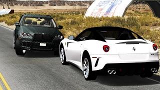 Luxury Car Crashes Compilation #4 - BeamNG.Drive •ShowMik