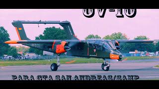 getlinkyoutube.com- MOD OV10 (avión) Para Gta San Andreas/Samp