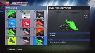 getlinkyoutube.com-PES 2016 - 100 NEW BOOTS / NOVAS CHUTEIRAS (BOTAS) [ PC ]