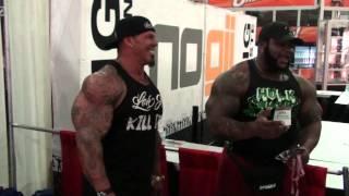 RICH PIANA vs DA HULK - Biceps Battle! width=