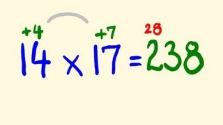 getlinkyoutube.com-Fast Mental Multiplication Trick - multiply in your head using base 10