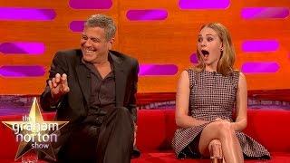 getlinkyoutube.com-George Clooney May Get Arrested For Prank On Brad Pitt - The Graham Norton Show