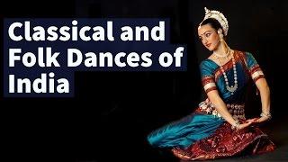 Classical & Folk Dances of India - Static General Knowledge