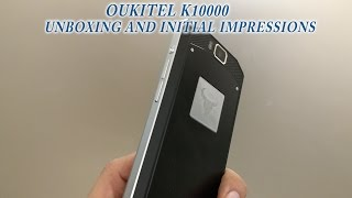 getlinkyoutube.com-The infamous 10000 mAh smartphone unboxing and initial thoughts- Oukitel K10000 Unboxing