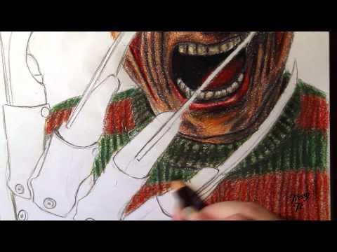 Speed Art | Freddy Krueger