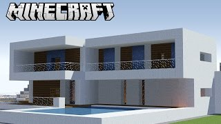 getlinkyoutube.com-Minecraft: Pequena Casa Moderna - Tutorial e Download