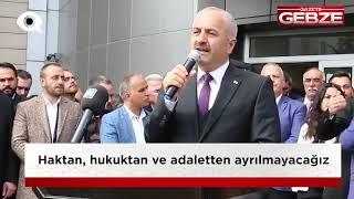 Büyükgöz ''Tüm Gebzelilerin Belediye Başkanıyım''