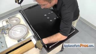 getlinkyoutube.com-Cooktop Glass Cooktop Assembly (part #WB62T10152) - How To Replace