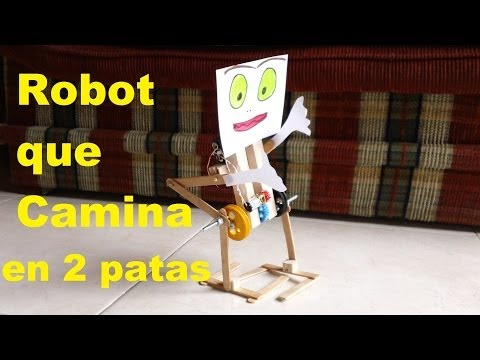 Robot Caminante en 2 patas (Fácil de hacer) walking robot