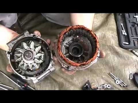 Alternator repair : Noisy Bearings replacement