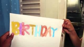getlinkyoutube.com-Happy birthday Alma Fauziah Ismail (stopmotion)