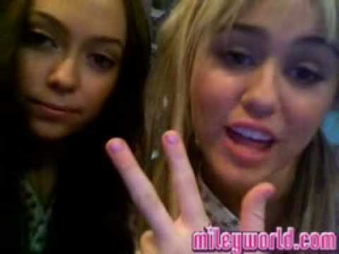 MileyWorld- Miley talks about Demi's House and OceanUP