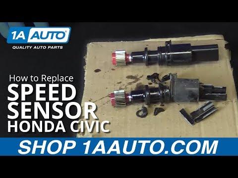 How to Replace Speed Sensor 01-05 Honda Civic