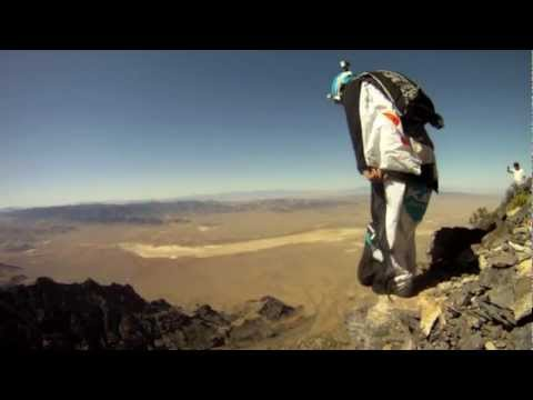 Notch Peak BASE jumping and wingsuiting