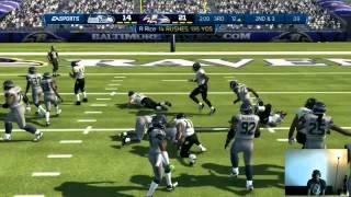 getlinkyoutube.com-Madden NFL 13 Full Game Commentary - Baltimore Ravens Playbook Madden 13 | MaddenMastermind.com