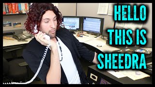 The Ghetto Telemarketer | Sheedra #SheedraGoesToWork