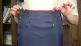 getlinkyoutube.com-Straight and Tapered Skirt Block Pattern-Making - Why Do We Need Darts (Free Sample)
