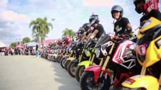 getlinkyoutube.com-MSX CLUTCHING DAY 16 JAN 2016 : HONDA MSX125 THAILAND