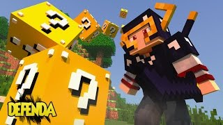 Minecraft: DEFENSE - PROTEJA O TUSK, OBSIDIAN ARMOR ‹ AM3NIC ›