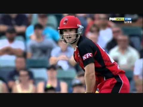 Daniel Harris 70(37) SA vs WA 13-01-2011