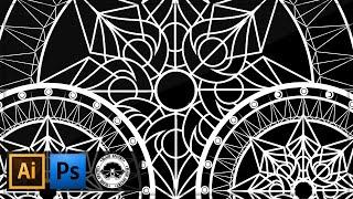 getlinkyoutube.com-Rotate Tool / Mandala Tutorial | Illustrator CS6