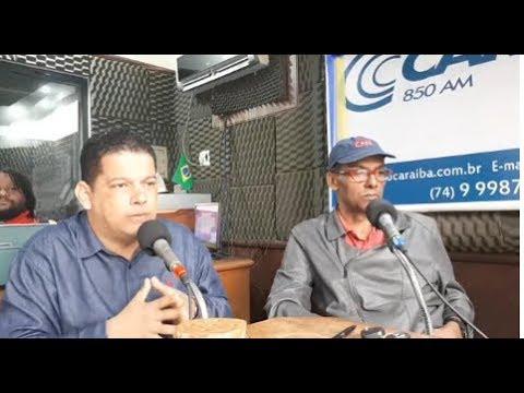 Entrevista do Vereador Laércio Jr. Dia 30 de Maio 2018