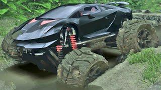 getlinkyoutube.com-Lamborghini Off Road - Spin Tires