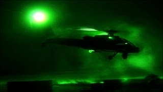 Actual Footage of Desert Storm's First Apache Strikes