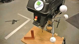 getlinkyoutube.com-Square your drill press table plane. It's easy.