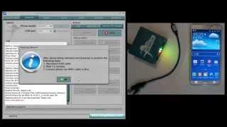 getlinkyoutube.com-Samsung SM-N900 (Galaxy Note 3) Repair network by Octoplus box