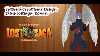 getlinkyoutube.com-Tutorial Creat Gear Design Skins Lostsaga  Konan