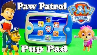 PAW PATROL Nickelodeon Ryder Pup Pack Paw Patrol Video Toys Review