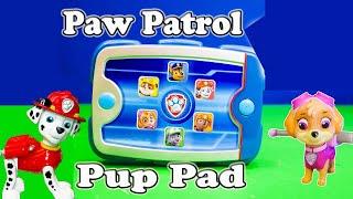 getlinkyoutube.com-PAW PATROL Nickelodeon Ryder Pup Pack Paw Patrol Video Toys Review