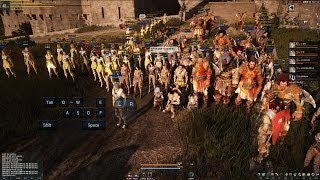 getlinkyoutube.com-Black Desert Online Castle Siege Advancement HD