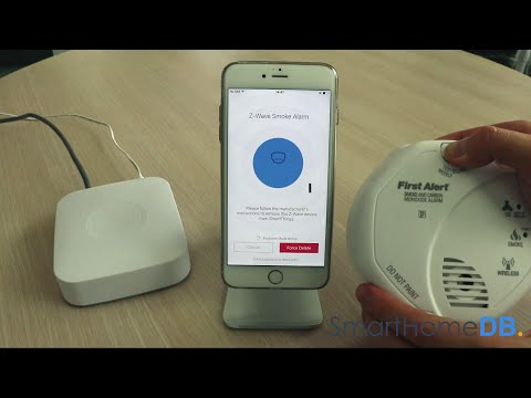 HOW-TO: Unpair and Disconnect your Samsung SmartThings Hub from a First Alert Smoke & CO Alarm